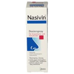 Nasivin® 0,05% Dosierspray für Erwachsene und Schulkinder