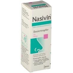 Nasivin® ohne Konservierungsstoffe Dosiertropfer für Babys
