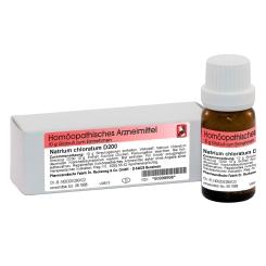 Natrium chloratum D200 Globuli