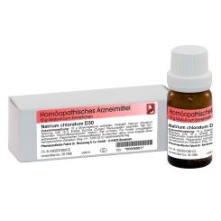 Natrium chloratum D30 Globuli