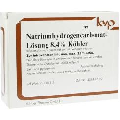 Natriumhydrogencarbonat - Lösung 8,4% Köhler