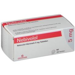 NEBIVOLOL Glenmark 5 mg