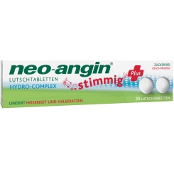 neo-angin® stimmig Plus
