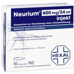 Neurium® 600 mg/24 ml injekt
