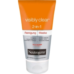 Neutrogena® visibly clear® 2-in-1 Reinigung und Maske