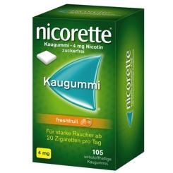 nicorette® 4 mg Freshfruit Kaugummi