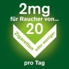 Nicorette® freshmint 2 mg Lutschtabletten