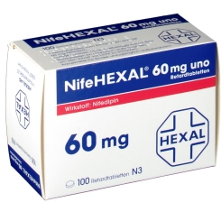 Nifehexal 60 uno Manteltabletten