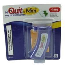 NiQuitin® Mini 4 mg Lutschtabletten