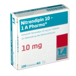 Nitrendipin 10 1a Pharma Tabletten