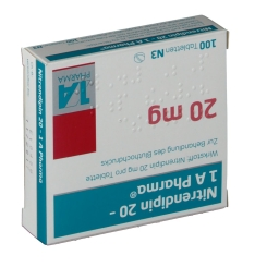 Nitrendipin 20 1A Pharma Tabletten