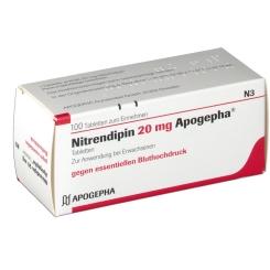 Nitrendipin 20 Apogepha Tabletten