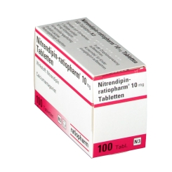 Nitrendipin ratiopharm 10 mg Tabl.