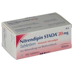 Nitrendipin Stada 20 Tabletten