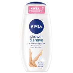 NIVEA® shower & shave 2-in-1 PFLEGEDUSCHE