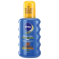 NIVEA® SUN Pflegendes Sonnenspray LSF 50+