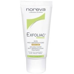 noreva Exfoliac® getönte Creme - dunkler Teint