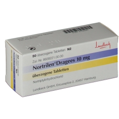 Nortrilen 10 mg Dragees