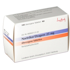 Nortrilen 25 mg Dragees