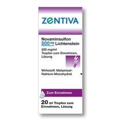 Novaminsulfon 500 mg Lichtenstein Tropfen