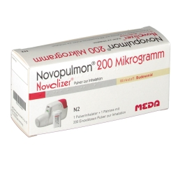 Novopulmon 200 Novolizer Inhaltor + Patrone