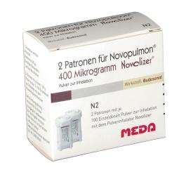 Novopulmon 400 Novolizer Patrone