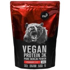 nu3 Vegan Protein 3K Shake, Erdbeere