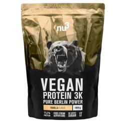 nu3 Vegan Protein 3K Shake, Vanille