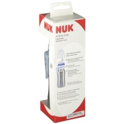 NUK Active Cup Edelstahl 215ml mit Trinktülle Farbe nicht wählbar