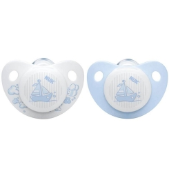 NUK® Beruhigungssauger Baby Blue Gr. 1 (0-6 Monate)