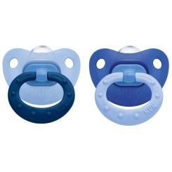 NUK® Classic Fashion Schnuller blau (6-18 Monate)