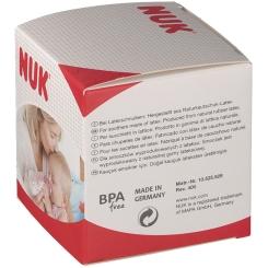 NUK® Classic Fashion Schnuller rot (18-36 Monate)