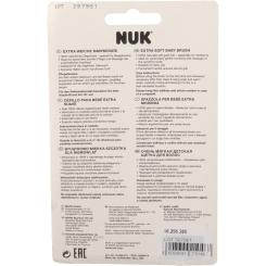 NUK® Extra weiche Babybürste rosa