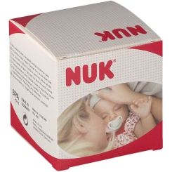 NUK® Freestyle Schnuller blau/beige (0-6 Monate)