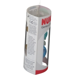 NUK® Genius Color Schnuller blau/grün (18-36 Monate)