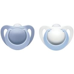 NUK® Genius Schnuller blau (6-18 Monate)