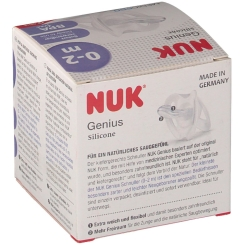 NUK® Genius Schnuller Größe 0 (0-2 Monate)