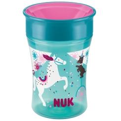NUK® Magic Cup 250 ml petrol Pferd