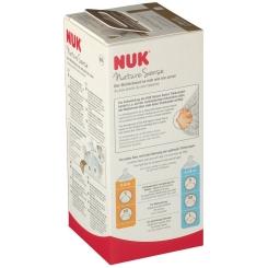 NUK® Nature Sense Babyflasche mit Trinksauger Größe 0 bis 6 Monaten S (Farbe nicht wählbar)