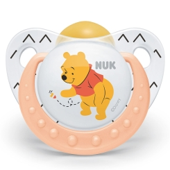NUK® Trendline Disney Winnie the Pooh Schnuller latex Gr. 3 (18-36 Monate)
