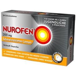 Nurofen® 200 mg Schmelztabletten Lemon Jugendliche