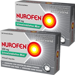 Nurofen® 200 mg Schmelztabletten Mint Doppelpack