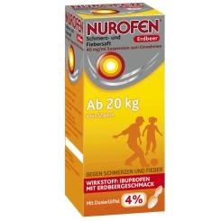 Nurofen® Fieber- und Schmerzsaft Erdbeer 4%
