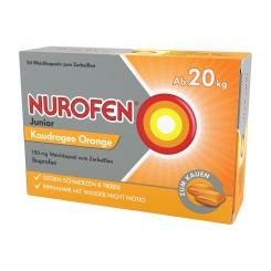 NUROFEN® Junior Kaudragee Orange 100 mg ab 20 kg