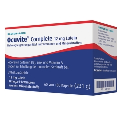 Ocuvite® Complete 12 mg Lutein Kapseln