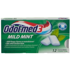 Odol-med3® Mild Mint Zahnpflege-Kaugummi