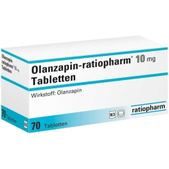 Olanzapin-ratiopharm® 10 mg Tabletten