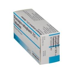 Olanzapin-ratiopharm® 2,5 mg Tabletten