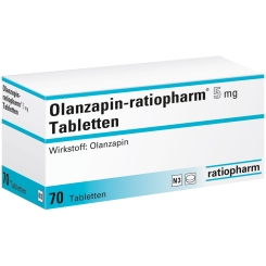 Olanzapin-ratiopharm® 5 mg Tabletten