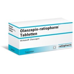 Olanzapin-ratiopharm® 7,5 mg Tabletten